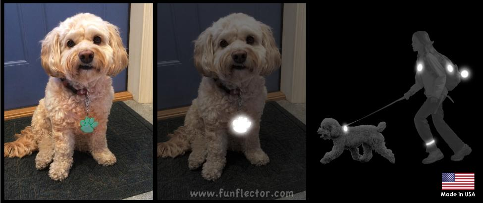 Fun-to-wear safety reflectors for everyone in the family. Stylish, fun and top rated safety reflectors by funflector®.