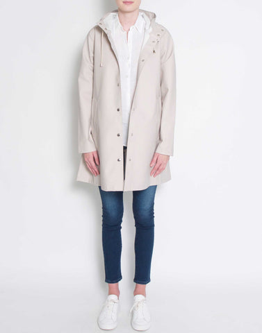 Cream Mosebacke Raincoat