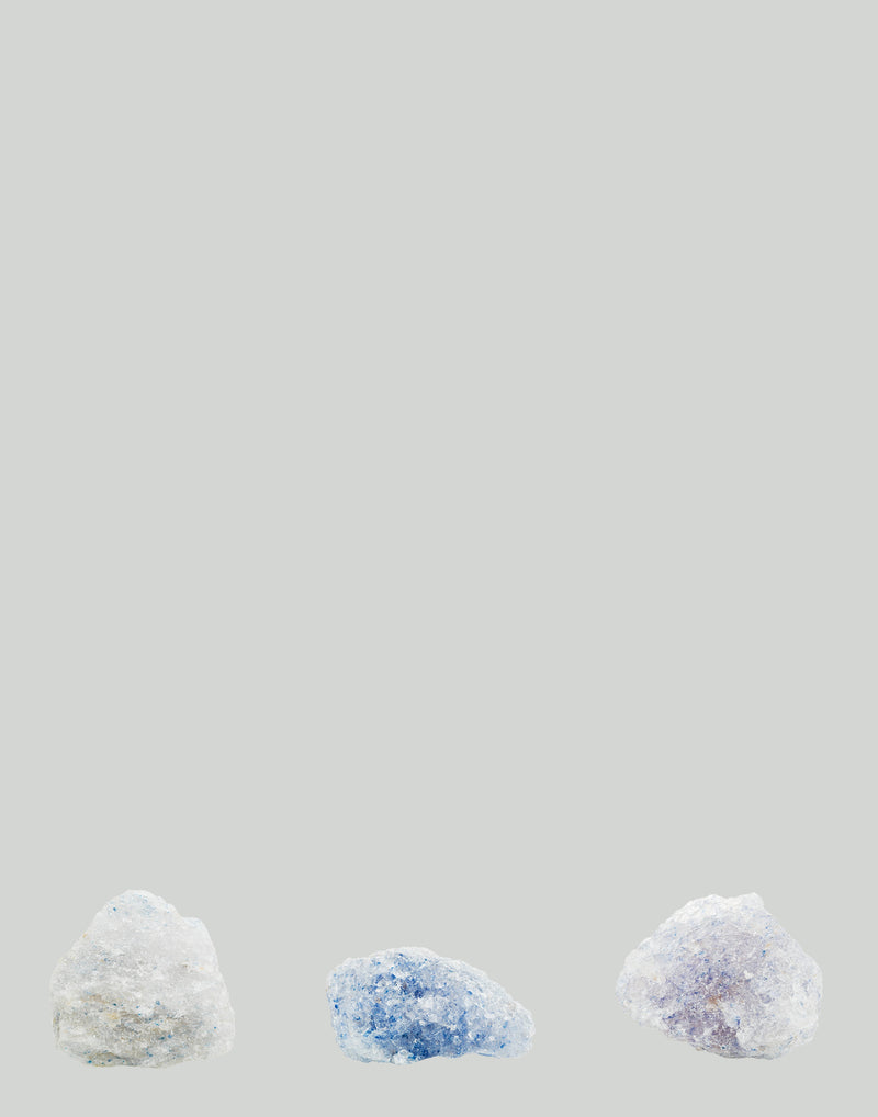 Persian Blue Salt Rocks