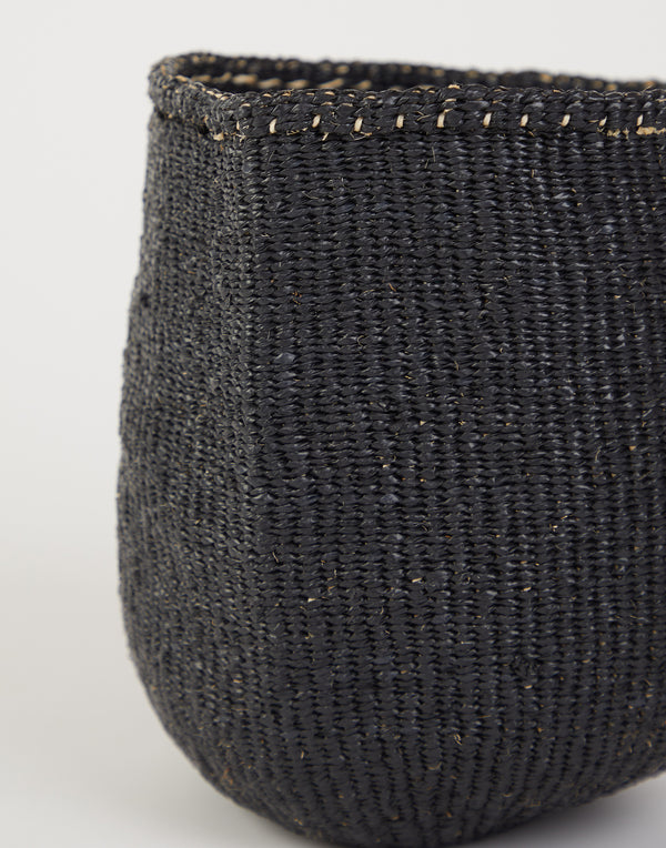 Small Black Kiondo Basket