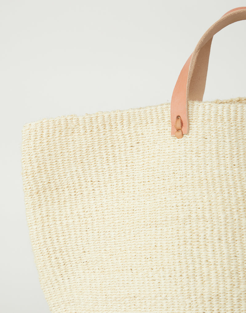 Natural Basket Tote