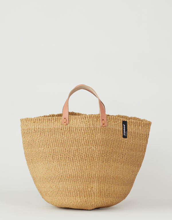 Brown Basket Tote