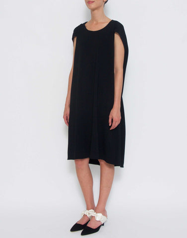 Black Dada Ruched Dress