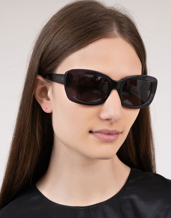 Transparent Grey Junior Sunglasses