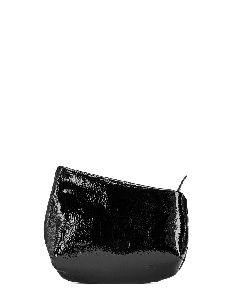 Black Patent Leather Fantasmino Bag