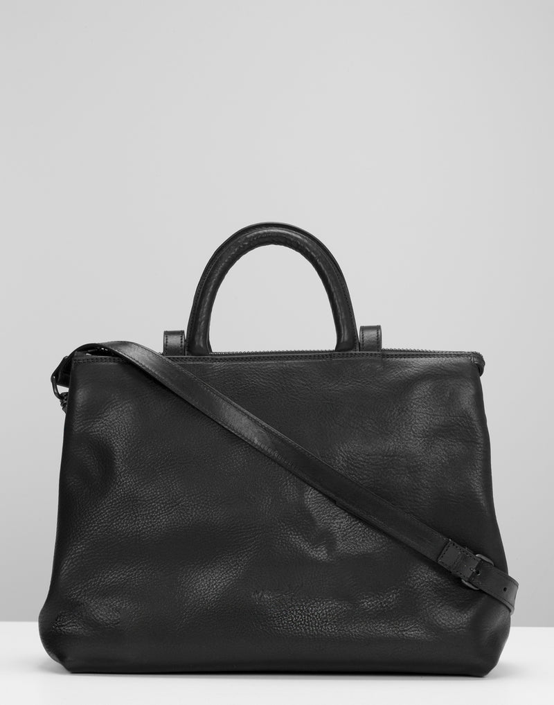 Black Leather 4 Dritta Bag