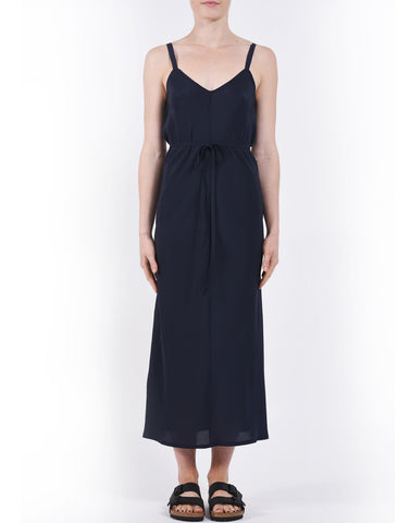 Indigo Blue Elem Silk Slip Dress
