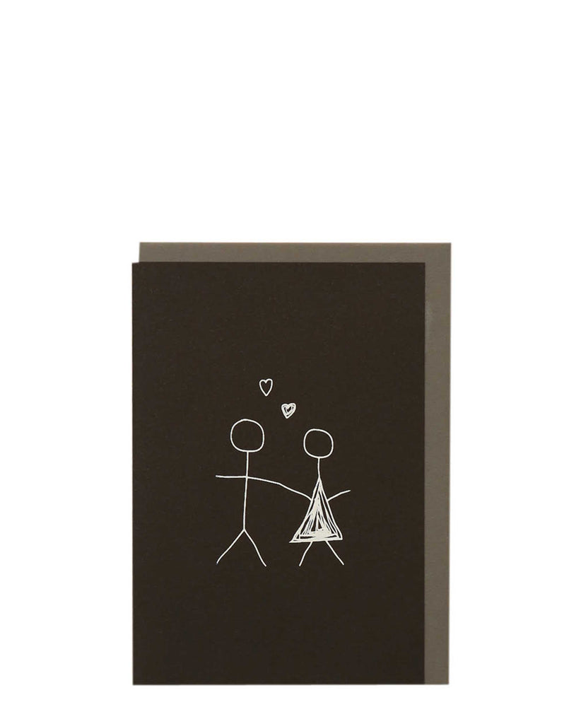 Shop Me Amber Greeting Cards Online Stick Couple Greeting Card