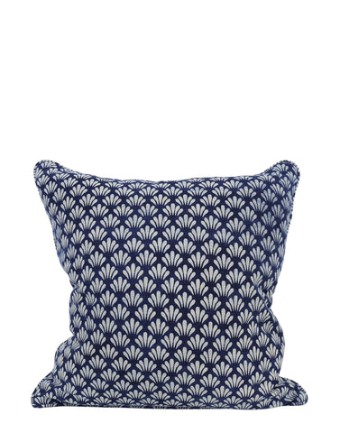 Antibes Indigo Cushion 50cm x 50cm