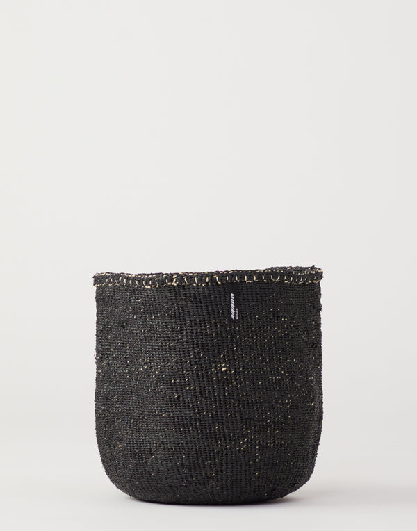 Medium Black Kiondo Basket