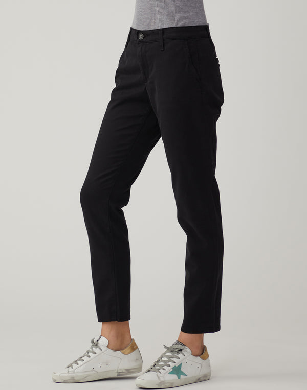 Super Black Caden Chino Trousers