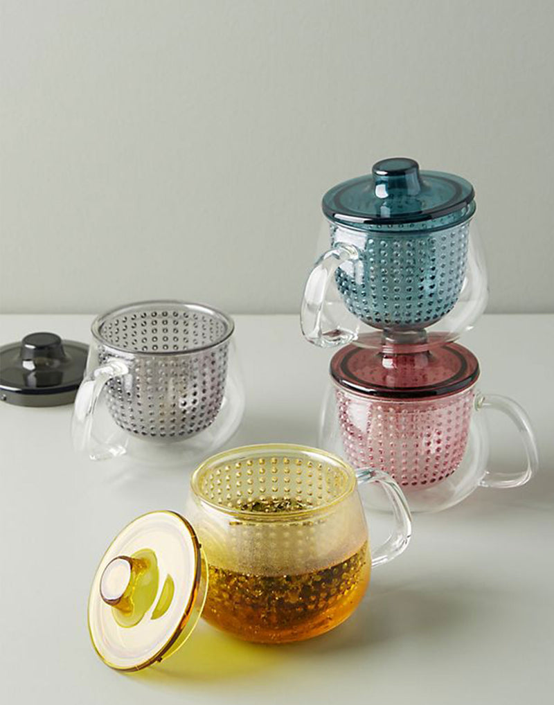 Clear Unimug Tea Brewer 350ml