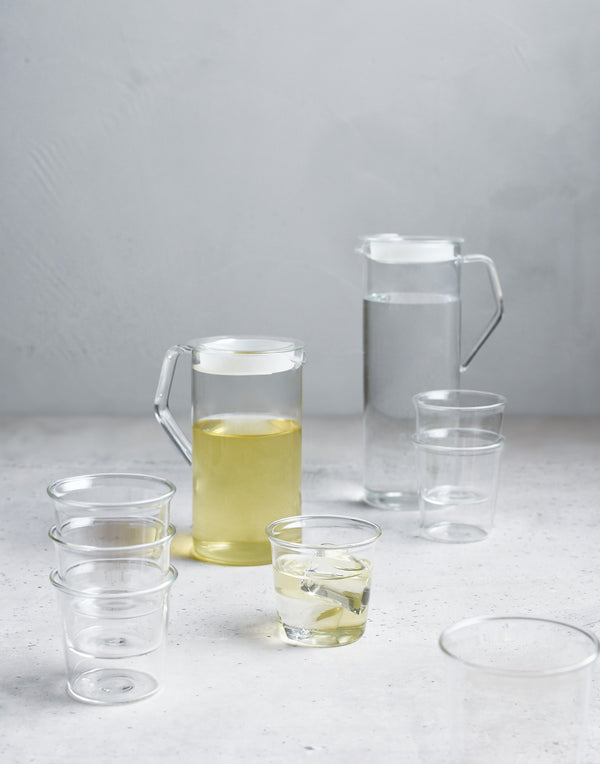 Cast Glass Water Jug 1.2L