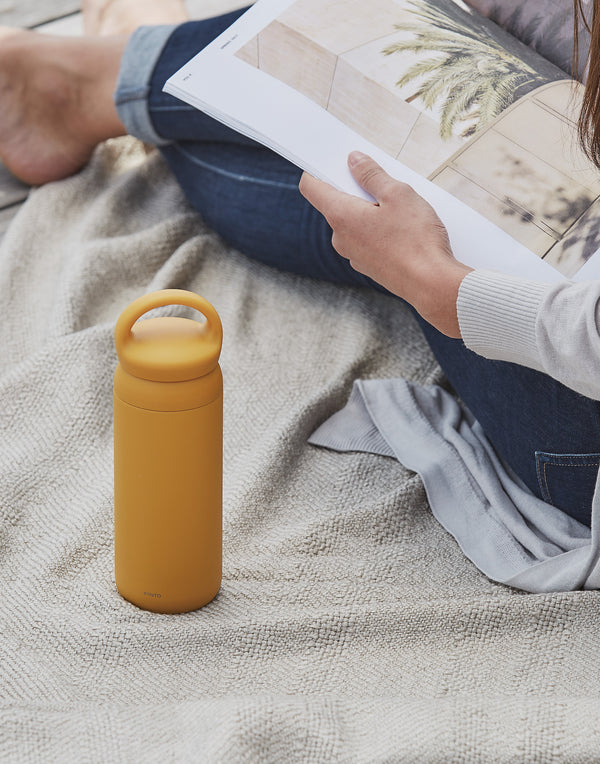 Yellow Day Off Tumbler 500ml