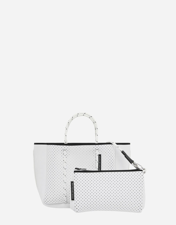 White Petite Escape Bag