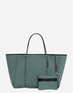 Deep Viridian Escape Tote