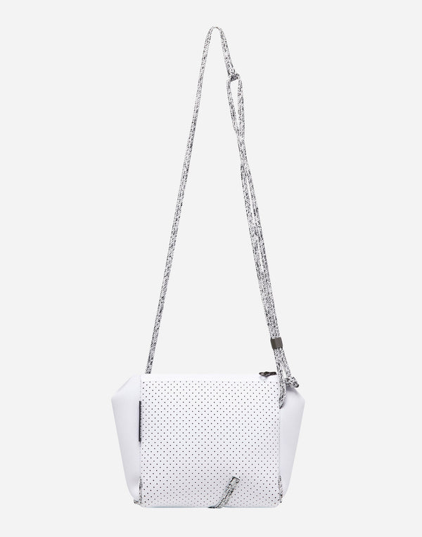 White Festival Mini Crossbody Bag