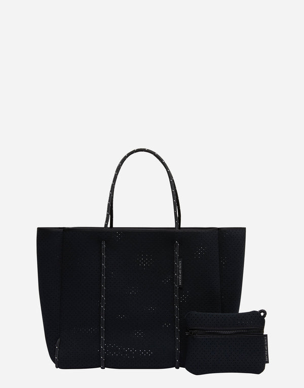 Black Flying Solo Tote