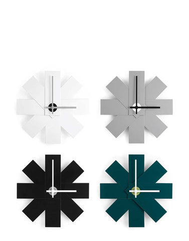 White Watch Me Wall Clock