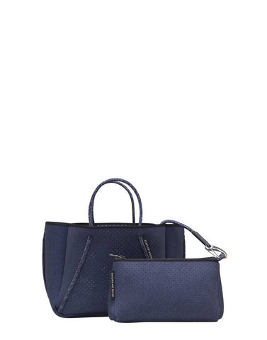 Petite Guise Dark Denim Cross-Body Bag