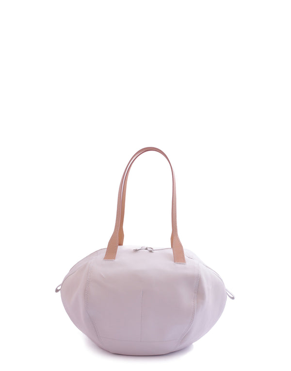 White Medium Helmet Shoulder Bag