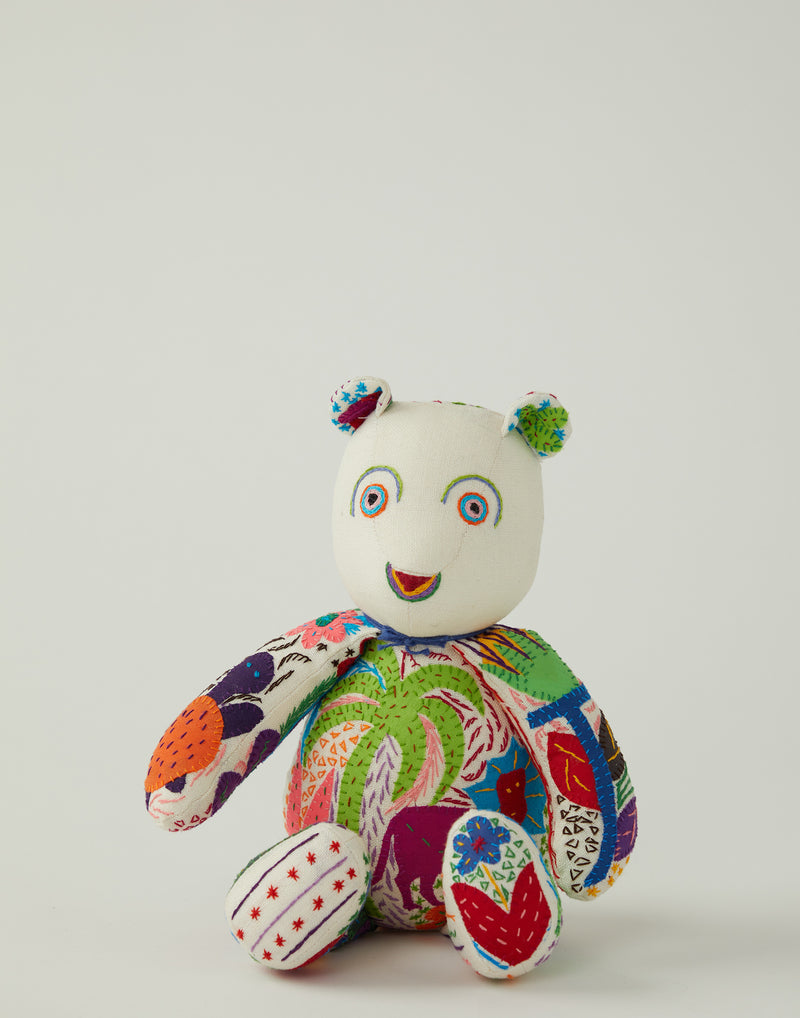 Maggie Embroidered Bear Small No.1 Lion