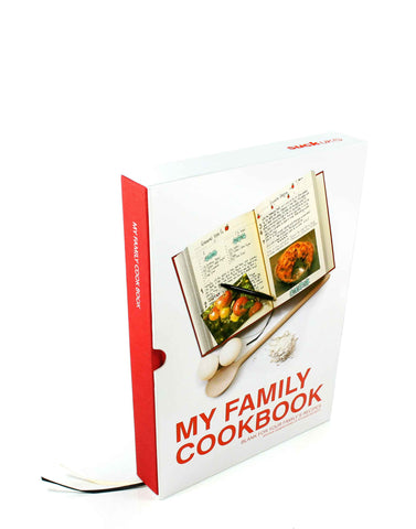 My Family Cookbook Red