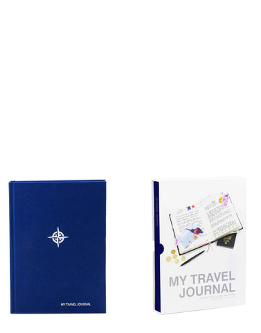 My Travel Journal Blue