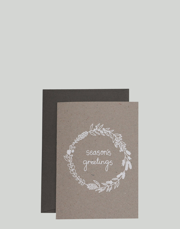 'Season's Greetings' Greeting Card