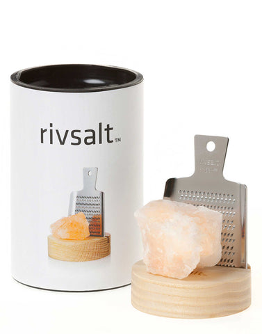 Original Kitchen Grater with Rock Salt