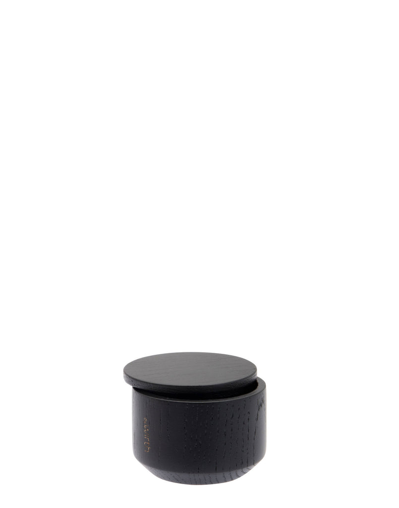Salt Me Black Oak Salt Jar