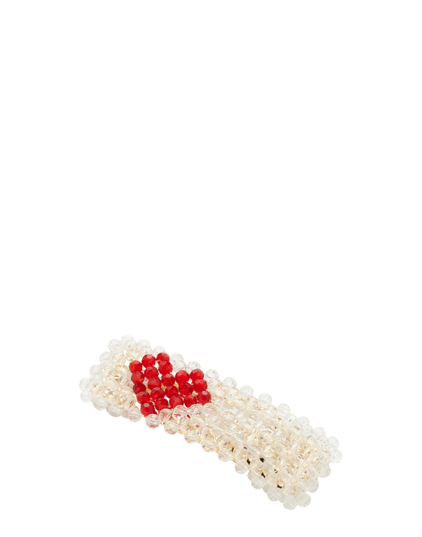 Red Heart Scarlet Clip