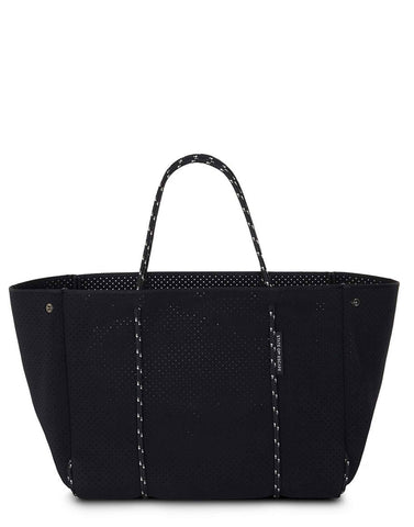 Black Leather Puntina Bag