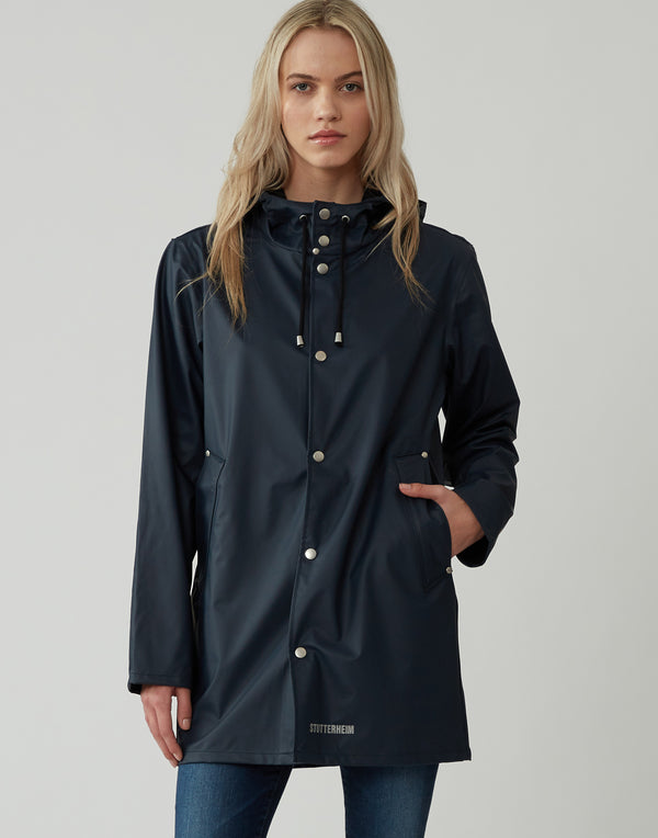Navy Lightweight Stockholm Raincoat