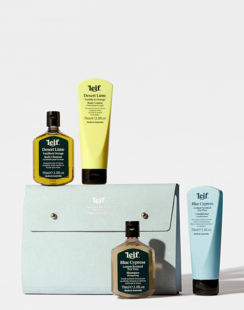 Desert Lime Travel Essentials Kit