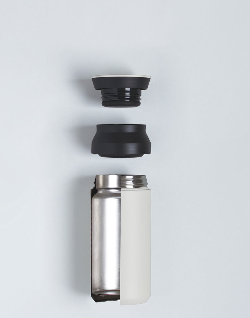 Silver Travel 500ml Tumbler