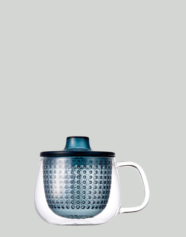 Navy Unimug Tea Brewer 350ml