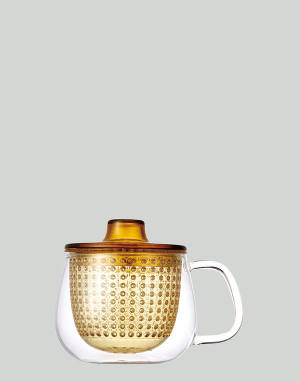 Yellow Unimug Tea Brewer 350ml