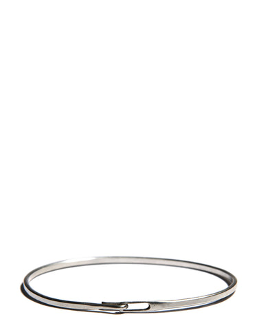 Sterling Silver Hook and Tag Bangle