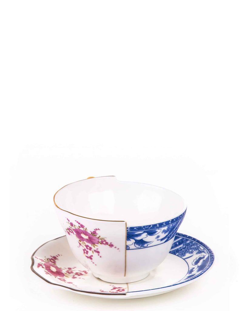 Hybrid Zenobia Porcelain Tea Cup with Saucer
