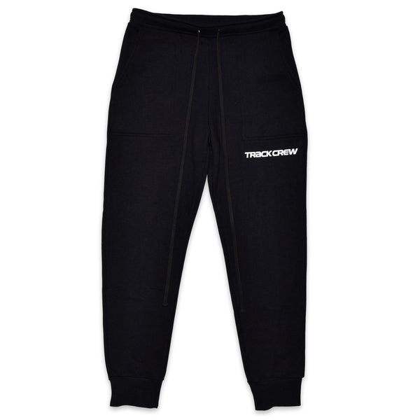 everyday heavy terry sweatpants - black/black