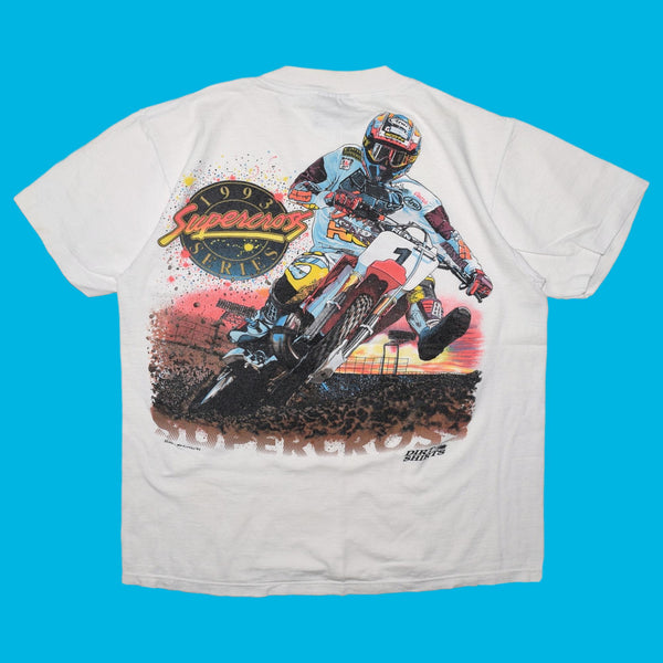 Vintage 1993 Supercross Series T Shirt