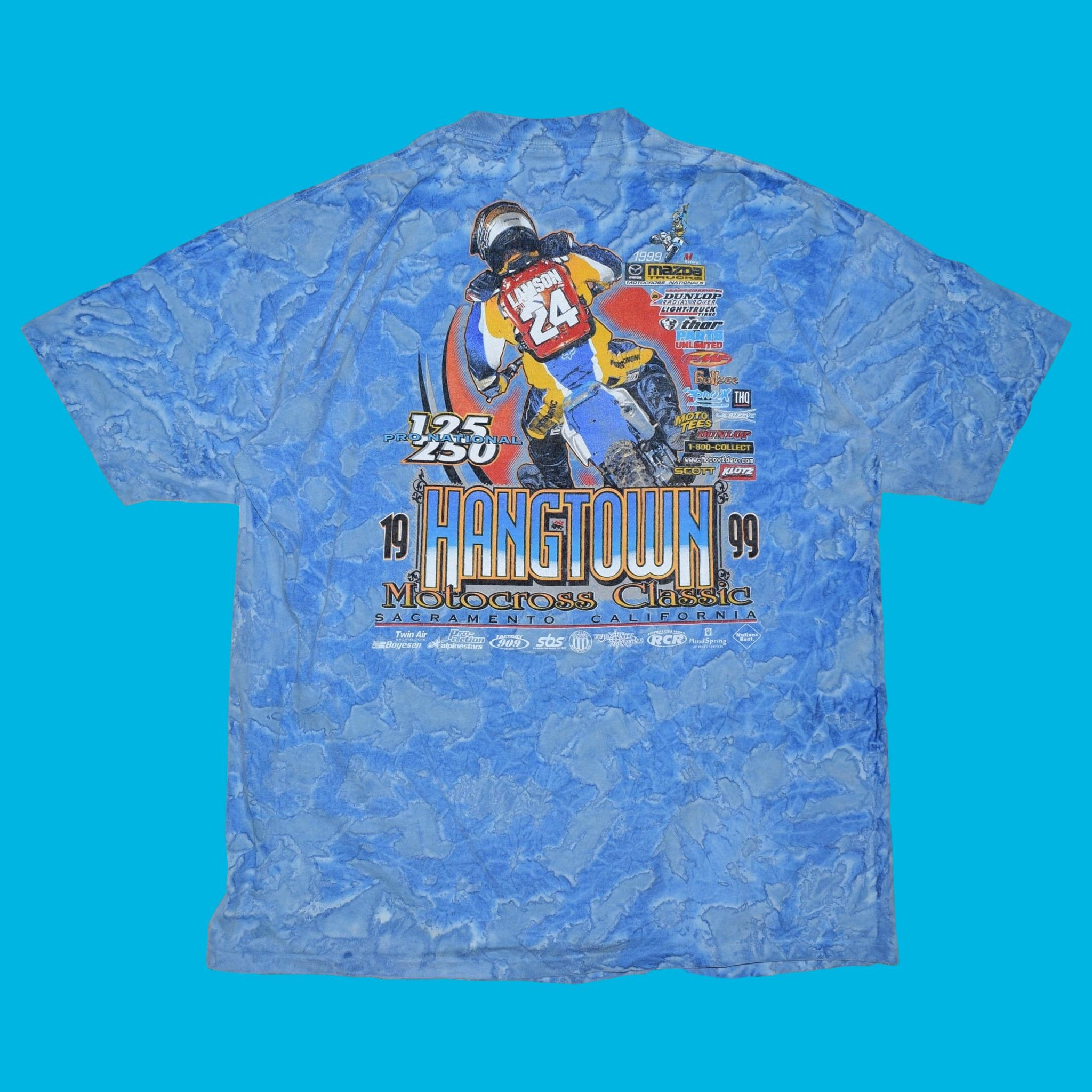 Vintage 1999 Hangtown Pro National T Shirt
