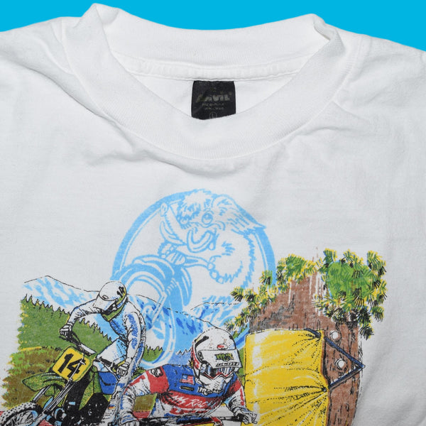 "Vintage MSR ""The Final Mammoth Mountain Motocross"" T Shirt"