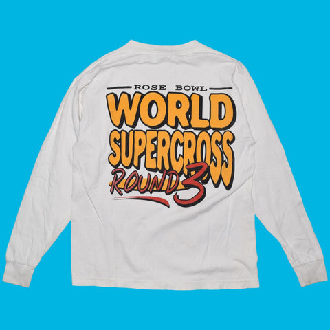 Vintage 1999 Rose Bowl World Supercross Long Sleeve T Shirt