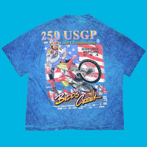 Vintage 1993 250 Budds Creek USGP T Shirt