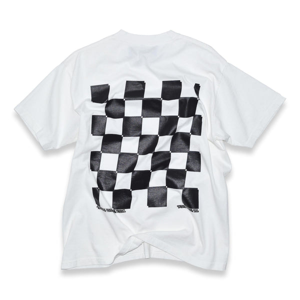 stay in your lane t-shirt - off white