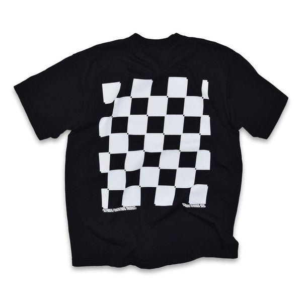 stay in your lane t-shirt - black