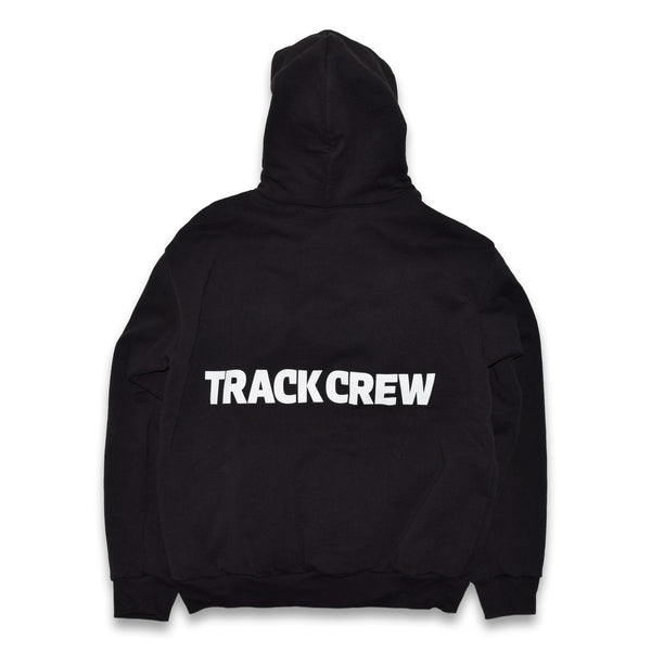everyday heavy fleece hoodie - black