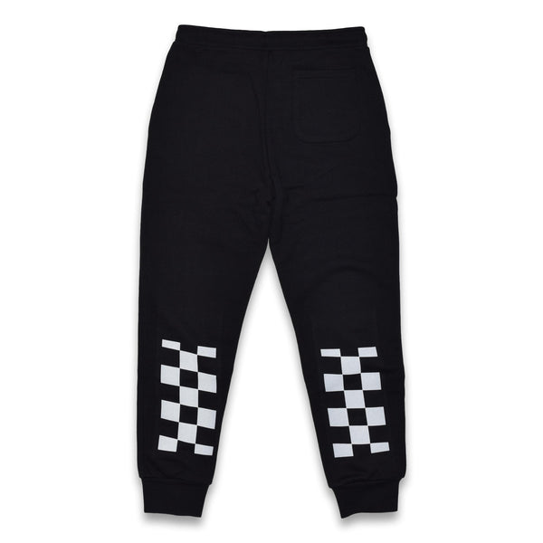 everyday heavy terry sweatpants - black